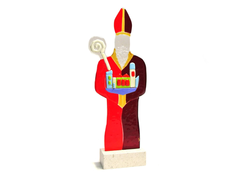 Sveti Vlaho izrađen od stakla - poklon