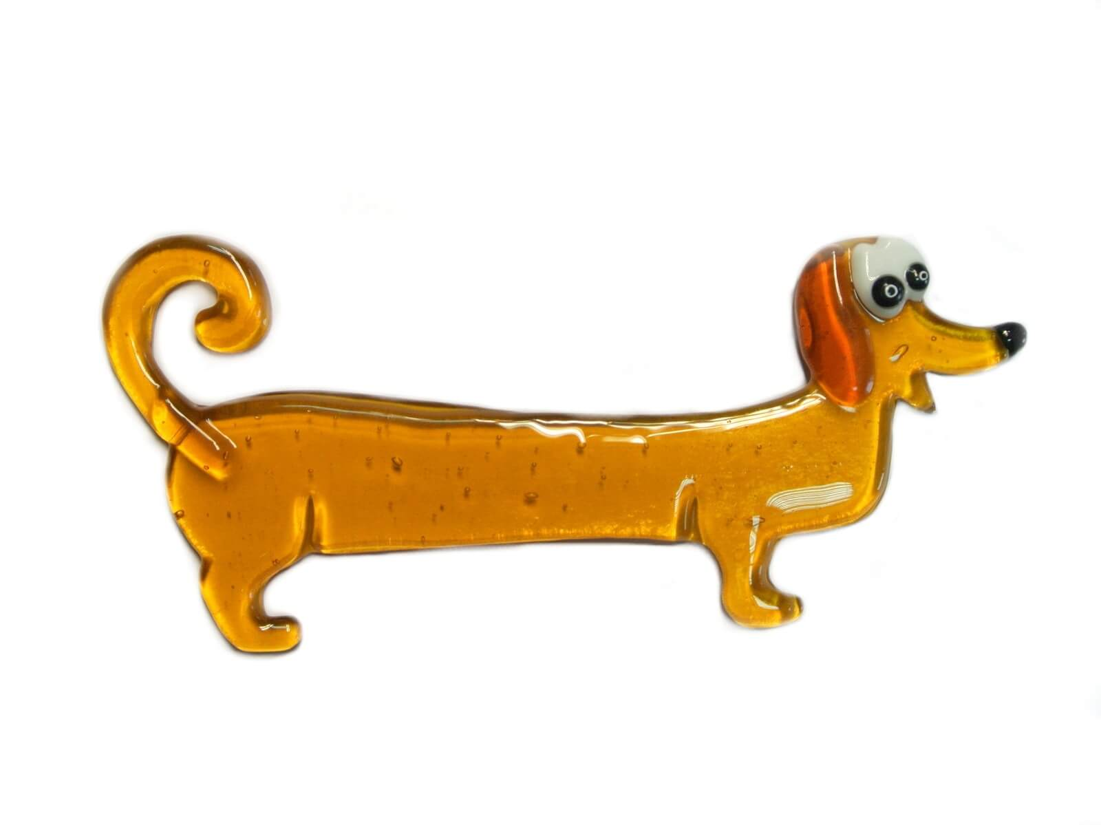 Figurica životinje ručnoizrađena od stakla - pas