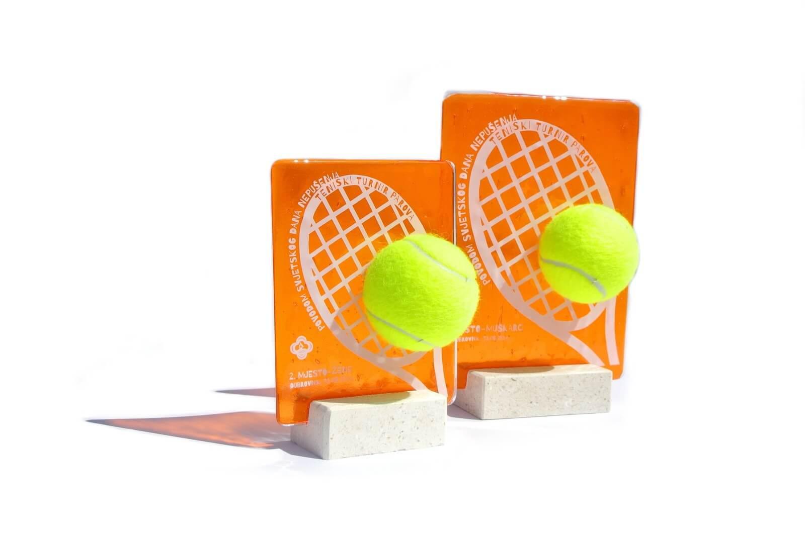 Dizajn sportskih nagrada - tenis