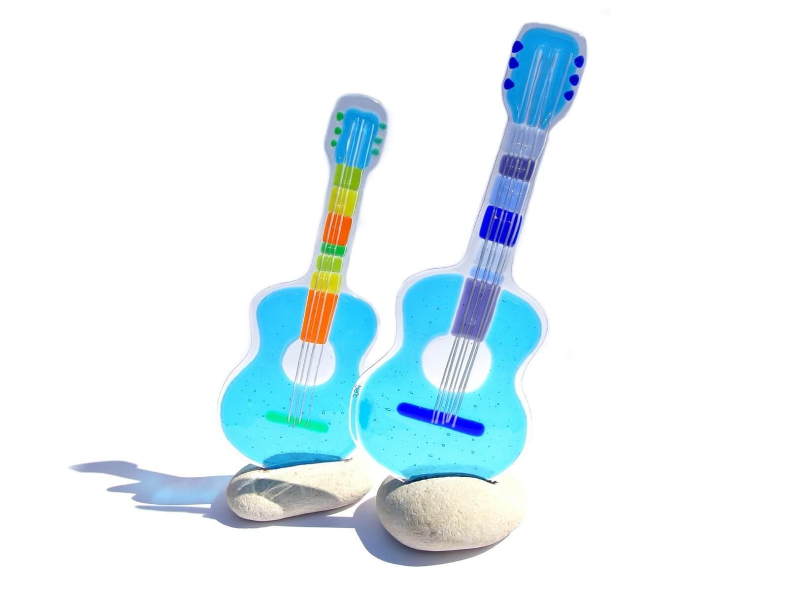 Glazbeni instrumenti napravljeni od stakla