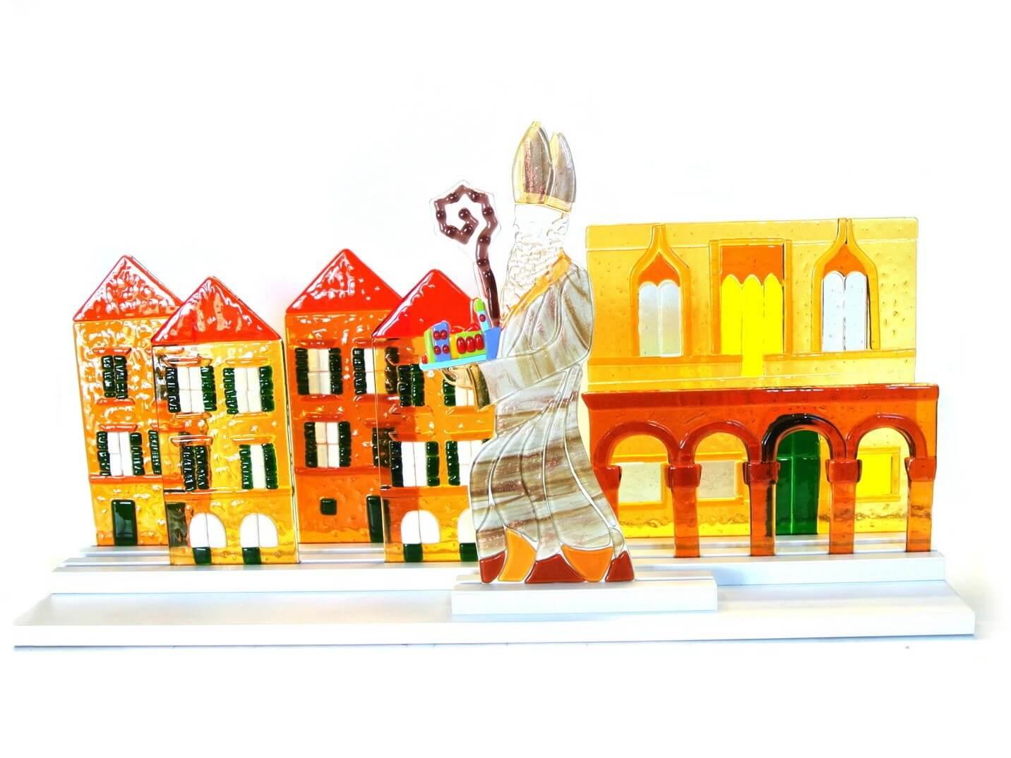 Sveti Vlaho na Stradunu napravljen od stakla